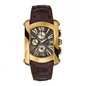 Orologio uomo Guess steel pelle