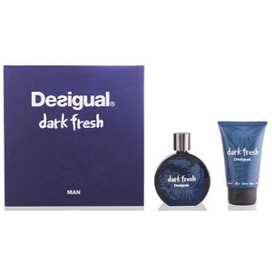 Desigual Dark Fresh Man Eau De Toilette 100ml Spray After Shave Balm 100ml