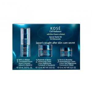 Kosé Kose Cell Radiance Serum 20ml Crema 15ml Crema De Ojos 6ml