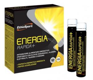 EthicSport Energia Rapida +10 Flaconi Da 25 Ml