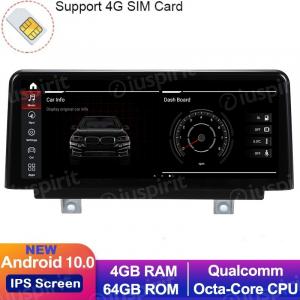 ANDROID 10 navigatore per BMW Series 3 F30 F31 F34 F35 G20 Serie 4 F32 F33 F36 Sistema EVO 10.25 pollici WI-FI GPS 4G LTE Bluetooth MirrorLink 4GB RAM 64GB ROM