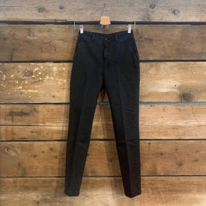 Pantalone Department 5 Puff in Cotone Slavato Nero