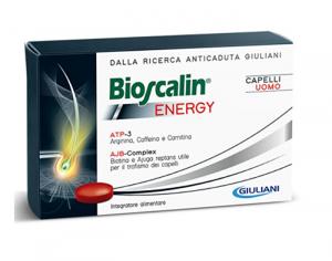 BIOSCALIN ENERGY ANTICADUTA CAPELLI UOMO 30 COMPRESSE