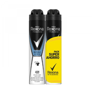 Rexona Men Motion Sense Invisible Ice Fresh Deodorante Spray 2x200ml