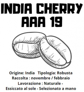 India Cherry AAA 19 caffè specie robusta 200gr