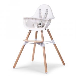 Seggiolone Evolutivo e Convertibile Evolu 2 Chair Childhome Bianco
