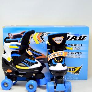 Skates Extendable Super Quad N 31-33