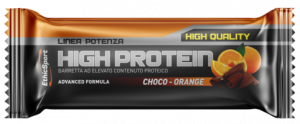 EthicSport HIGH PROTEIN Choco-Orange - 18 barrette da 55 g