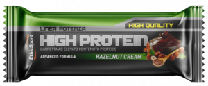 EthicSport HIGH PROTEIN Hazelnut Cream - 18 barrette da 55 g