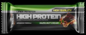 EthicSport HIGH PROTEIN Hazelnut Cream - 18 barrette da 55 g