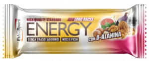 EthicSport ENERGY LONG RACES CON BETA-ALANINA - 30 barrette da 40g