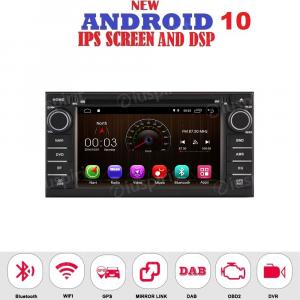 ANDROID 10 autoradio 2 DIN navigatore per Nissan Juke 2014-2019 GPS DVD USB WI-FI Bluetooth Mirrorlink