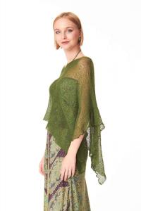 Ponchetto Verde Bosco | Coprispalle vendita online