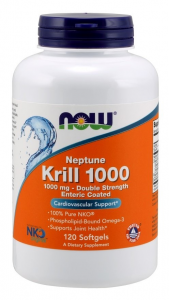 Now Aceite De Krill Neptune 1000 Mg 60 Perl
