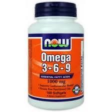 Now Omega 3-6-9 1000 Mg 100 Perlas Origen Vegetal