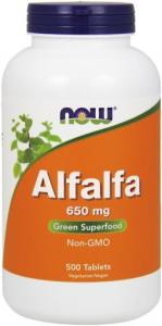Now Alfalfa Extracto De Zumo Concentrado 1000 Mg 100