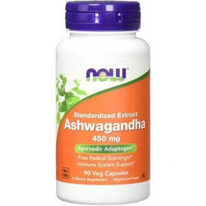 Now Ashwagandha Extracto 450 Mg 90 Vcap