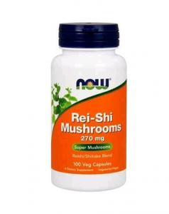 Now Rei-Shi Hongos Comb Reishi y Shiitake 100 Vcaps