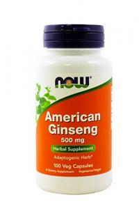 Now Gingseng Americano 500 Mg 100 Caps