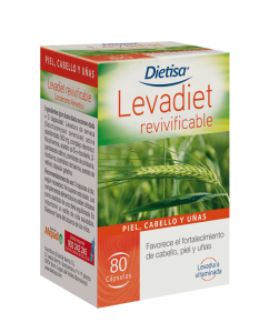 Dietisa Levadiet Revivificable 80 Caps