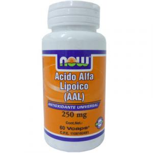 Now Alpha Lipoic Acid 60 Vcaps