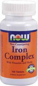 Now Iron Complex 100 Tabs