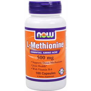 Now L-Metionina 500 Mg 100 Caps