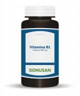 Bonusan Vitamina B1 Tiamina 60 Capsulas Vegetales