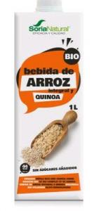 Alecosor Pack Bebida De Arroz Quinoa Bio 3x1 Litro