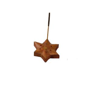 Radhe Incensiario Madera Estrella 5 Puntas