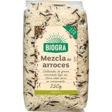 Biográ Mezcla De Arroces Salvajes 250g