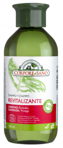 Corpore Champu Revitalizante Ginseng y Granada 300ml Bio