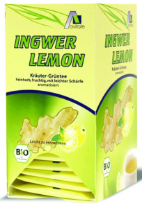 Madal Bal Jengibre Limon Con Te Verde Bio 20 Filtros