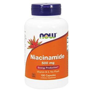 Now Niacinamida 500 Mg 100 Caps