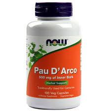 Now Pau D'arco 500 Mg 100 Caps