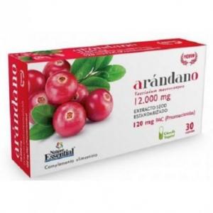 Nature Ess Arandano Rojo 120 Pac Ext Seco 30 Vcaps Blister