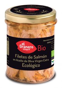 Granero Filetes De Salmon Bio 195g