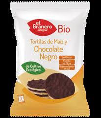 Granero Tortitas De Maiz Con Chocolate Negro Bio 33g
