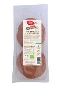 Granero Pan Burguer Con Trigo Sarraceno Sin Gluten Bio 2 U