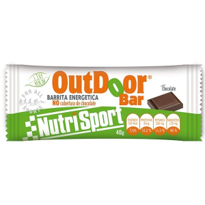 Nutrisport Caja 20 Barritas Outdoor Chocolate