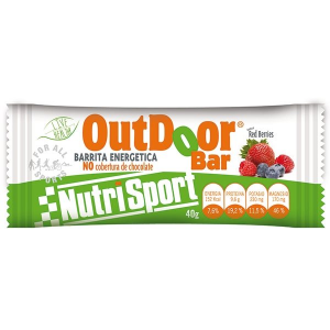 Nutrisport Caja 24 Barritas Outdoor Red Berries