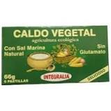 Integralia Caldo Vegetal Eco Con Sal Marina 6 Cubitos X 11g