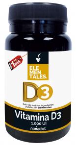 Novadiet Vitamina D3 1000 Ui 120 Comp