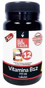 Novadiet Vitamina B12 100 Mcg 120 Comp