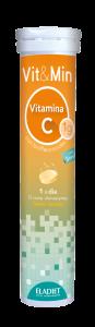Eladiet Vit y Min Vitamina C 15 Comp Efervescentes