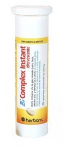 Herbora Bi Complex Instant Efervescente 10 Comp Efervescen