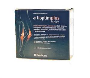 Herbora Artioptim Plus 20 Ampollas Bebibles Artibon