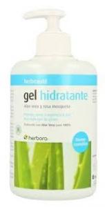 Herbora Gel Hidratante Aloe Vera Rosa Mosqueta 500ml