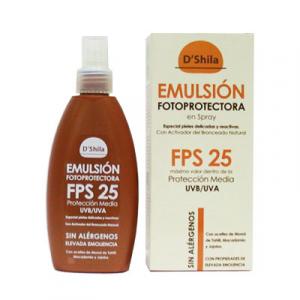 Shila Emulsion Fotoprotectora Spray Fps 25 200ml