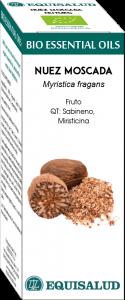 Equisalud Bio Essential Oil Nuez Moscada - Qt:sabineno, Miri